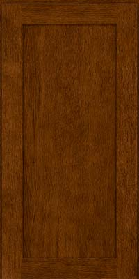 Square Recessed Panel - Veneer (MRO) Quartersawn Oak in Cognac - Wall
