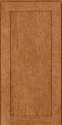 Square Recessed Panel - Veneer (MRO) Quartersawn Oak in Fawn - Wall