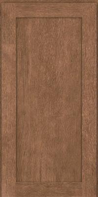 Square Recessed Panel - Veneer (MRO) Quartersawn Oak in Husk - Wall