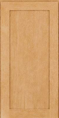 Square Recessed Panel - Veneer (MRO) Quartersawn Oak in Natural - Wall