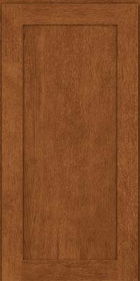 Square Recessed Panel - Veneer (MRO) Quartersawn Oak in Rye - Wall
