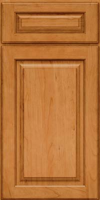 Square Raised Panel - Solid (MTC) Cherry in Natural - Base