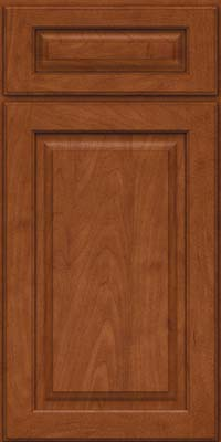 Square Raised Panel - Solid (MTM) Maple in Chestnut - Base