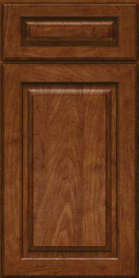Square Raised Panel - Solid (MTM) Maple in Cognac - Base