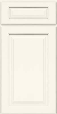 Arch Raised Panel - Solid (PWM) Maple in Dove White - Base