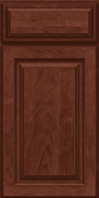 Square Raised Panel - Solid (MTM1) Maple in Kaffe - Base