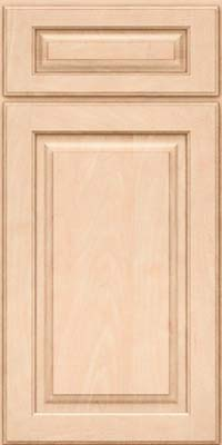 Square Raised Panel - Solid (MTM) Maple in Parchment - Base