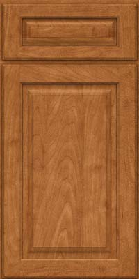Square Raised Panel - Solid (MTM) Maple in Praline - Base