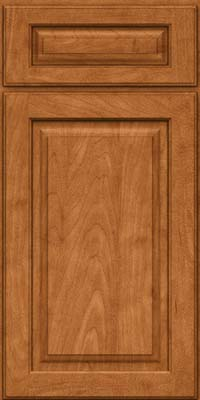 Square Raised Panel - Solid (MTM) Maple in Praline w/Mocha Highlight - Base