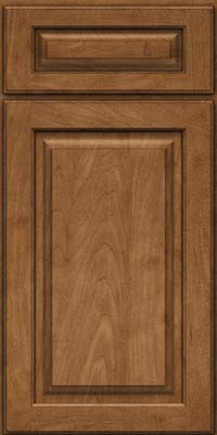 Arch Raised Panel - Solid (PWM) Maple in Rye - Base