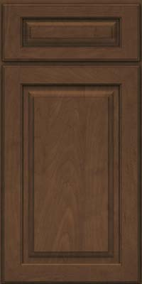 Square Raised Panel - Solid (MTM) Maple in Saddle Suede - Base