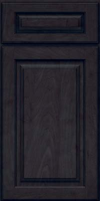 Square Raised Panel - Solid (MTM) Maple in Slate - Base