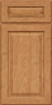 Square Raised Panel - Solid (MTM) Maple in Toffee - Base
