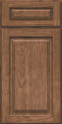 Square Raised Panel - Solid (MTO) Oak in Husk - Base