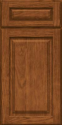 Square Raised Panel - Solid (MTO) Oak in Rye - Base