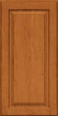 Square Raised Panel - Solid (MTC) Cherry in Honey Spice - Wall