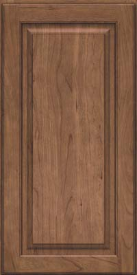 Square Raised Panel - Solid (MTC) Cherry in Husk - Wall