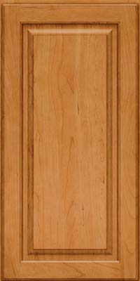 Square Raised Panel - Solid (MTC) Cherry in Natural - Wall