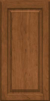 Square Raised Panel - Solid (MTC) Cherry in Rye - Wall