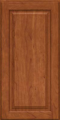 Square Raised Panel - Solid (MTC) Cherry in Sunset - Wall