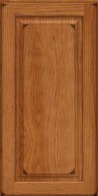 Square Raised Panel - Solid (MTH) Hickory in Burnished Praline - Wall