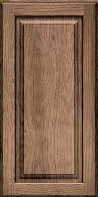 Square Raised Panel - Solid (MTH) Hickory in Husk - Wall
