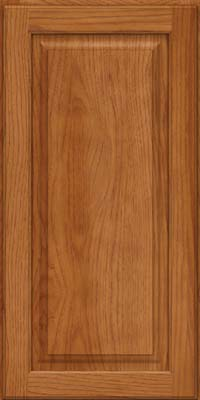 Square Raised Panel - Solid (MTH) Hickory in Praline - Wall