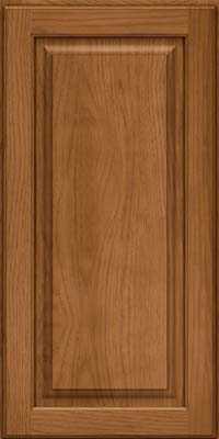 Square Raised Panel - Solid (MTH) Hickory in Rye - Wall