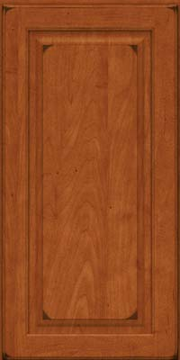 Piermont Square - Full (MTM4) Maple in Burnished Cinnamon - Wall