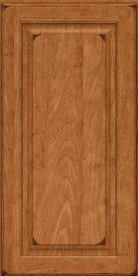 Square Raised Panel - Solid (MTM) Maple in Burnished Praline - Wall