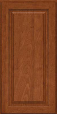Square Raised Panel - Solid (MTM) Maple in Chestnut - Wall
