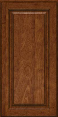 Square Raised Panel - Solid (MTM) Maple in Cognac - Wall