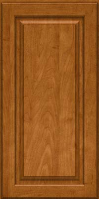 Square Raised Panel - Solid (MTM) Maple in Golden Lager - Wall