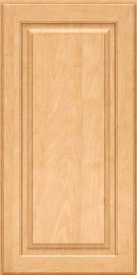 Square Raised Panel - Solid (MTM) Maple in Honey Spice - Wall