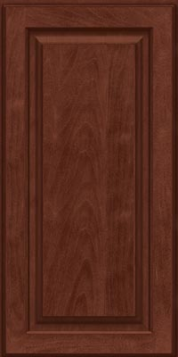 Square Raised Panel - Solid (MTM1) Maple in Kaffe - Wall