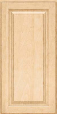 Square Raised Panel - Solid (MTM) Maple in Natural - Wall