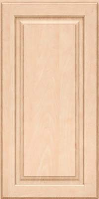 Square Raised Panel - Solid (MTM) Maple in Parchment - Wall