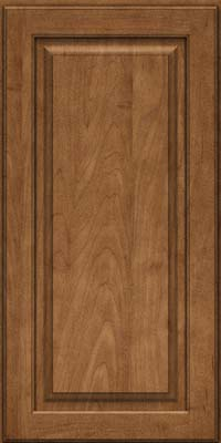 Square Raised Panel - Solid (MTM) Maple in Rye - Wall
