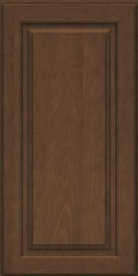Square Raised Panel - Solid (MTM) Maple in Saddle Suede - Wall