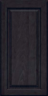 Square Raised Panel - Solid (MTM) Maple in Slate - Wall