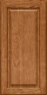 Square Raised Panel - Solid (MTO) Oak in Fawn - Wall