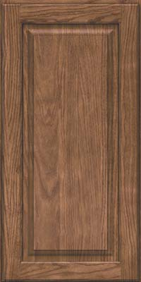 Square Raised Panel - Solid (MTO) Oak in Husk - Wall