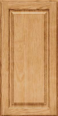 Square Raised Panel - Solid (MTO) Oak in Natural - Wall