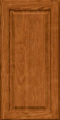 Square Raised Panel - Solid (MTO) Oak in Toffee - Wall