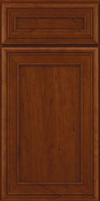 Square Recessed Panel - Veneer (NBC) Cherry in Autumn Blush - Base