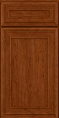 Square Recessed Panel - Veneer (NBC) Cherry in Cinnamon - Base