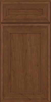 Square Recessed Panel - Veneer (NBC1) Cherry in Hazel - Base