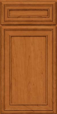 Square Recessed Panel - Veneer (NBC) Cherry in Honey Spice - Base