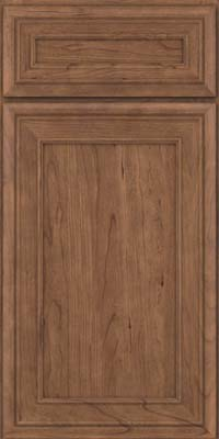 Square Recessed Panel - Veneer (NBC) Cherry in Husk - Base
