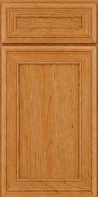 Square Recessed Panel - Veneer (NBC) Cherry in Natural - Base